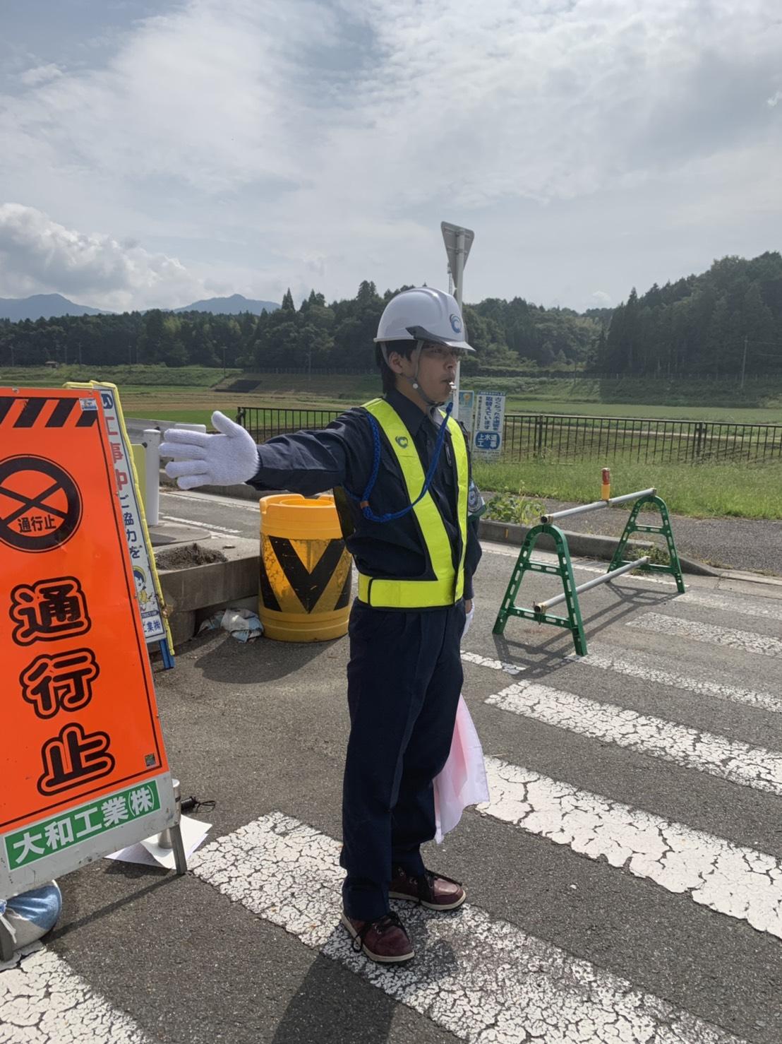 甲賀市本社にて、本日より新人警備スタッフさんの現場教育を開始しております。